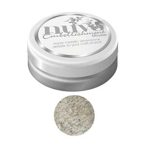 Nuvo Embellishment Mousse - Pure Platinum class=