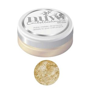 Nuvo Embellishment Mousse - Mother of Pearl class=