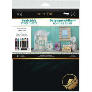 Thermoweb-Deco Foil Peel N Stick Toner Sheets