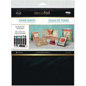 Thermoweb Deco Foil Toner Sheets - 3pk