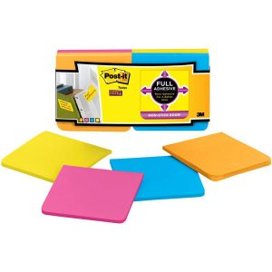 "Post-It Super Sticky Full Adhesive Notes - 3"" X 3"" class="