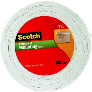Scotch® Double-Sided Foam Mounting Tape - 38 yd.