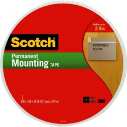 Scotch® Double-Sided Foam Mounting Tape – 38 yd.