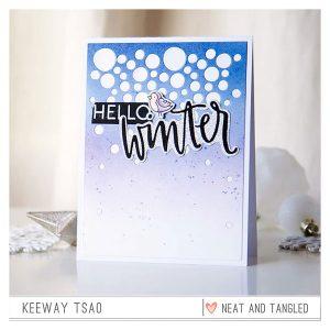 Neat & Tangled Hello Winter Dies class=