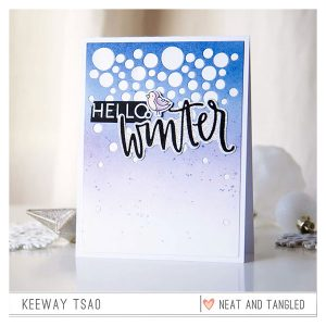 Neat & Tangled Hello Winter Stamp Set class=
