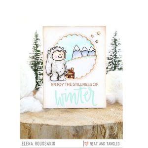 Neat & Tangled Get Yeti Stamp Set class=