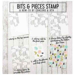 Concord & 9th Bits & Pieces Stamp Set class=