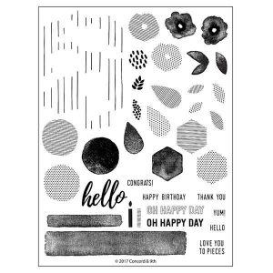 Concord & 9th Bits & Pieces Stamp Set