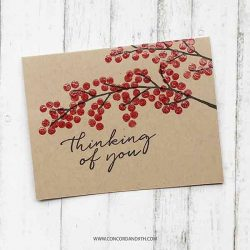 Concord & 9th Beautiful Branches Stamp Set