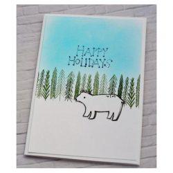 Flora & Fauna Arctic Starry Night Stamp Set