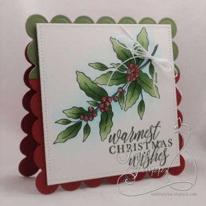 Impression Obsession Warmest Wishes Stamp class=
