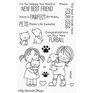 My Favorite Things BB New Best Friend Stamp Set