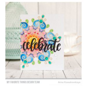 My Favorite Things Mesmerizing Mandala Background Stamp class=