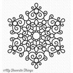My Favorite Things Mesmerizing Mandala Background Stamp