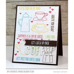 My Favorite Things Coffee Date Stamp Set