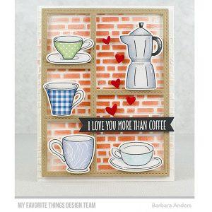 My Favorite Things Coffee Date Die-namics class=
