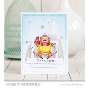 My Favorite Things Ski-sons Greetings Stamp Set class=