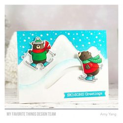 My Favorite Things Ski-sons Greetings Stamp Set