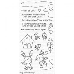 My Favorite Things You Make My Heart Spin Stamp Set
