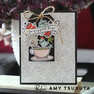 Pinkfresh December Days Stamp Set class=