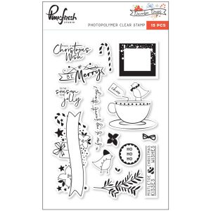 Pinkfresh December Days Stamp Set