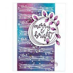 Spellbinders Merry & Bright 2017 Stamp & Die Set