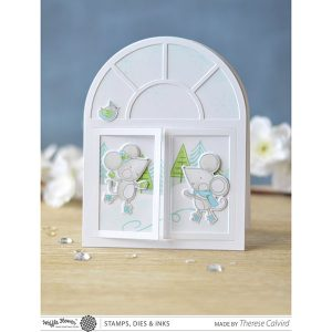 Waffle Flower Cold Hands Stamp Set class=