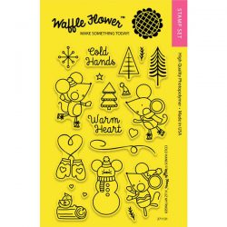 Waffle Flower Cold Hands Stamp Set
