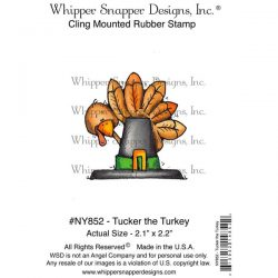 Whipper Snapper Tucker The Turkey Stamp