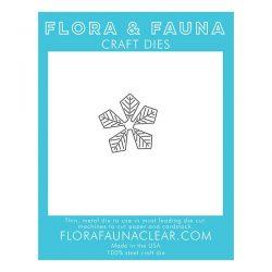 Flora & Fauna Poinsettia Flower Die