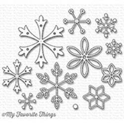 My Favorite Things Layered Snowflakes Die-namics
