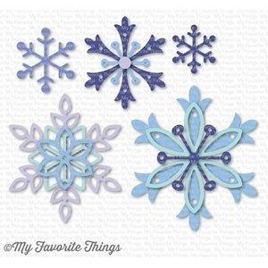 My Favorite Things Layered Snowflakes Die-namics class=