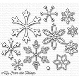 My Favorite Things Layered Snowflakes Die-namics