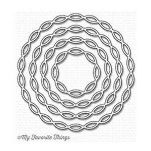 My Favorite Things Linked Chain Circle Frames Die-namics