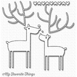 My Favorite Things Deer Love Die-namics