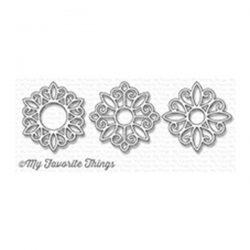 My Favorite Things Ornamental Medallion Trio Die-namics