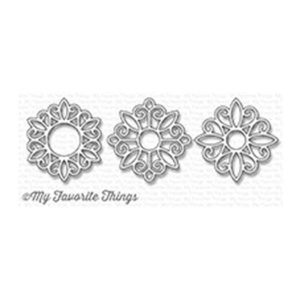 My Favorite Things Ornamental Medallion Trio Die-namics