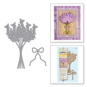 Spellbinders Lavender Bunch Die Set class=