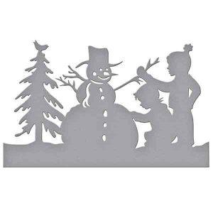 Spellbinders Build A Snowman Die