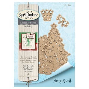 Spellbinders Deck The Halls Die Set class=