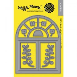 Waffle Flower A2 Arch Window Die