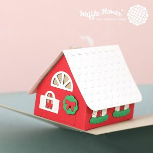 Waffle Flower Pop-Up House Die class=