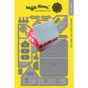 Waffle Flower Pop-Up House Die