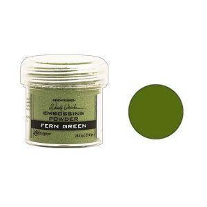 Wendy Vecchi Fern Green Embossing Powder class=