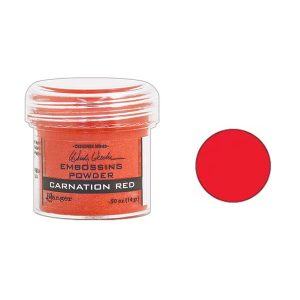 Wendy Vecchi Red Carnation Embossing Powder