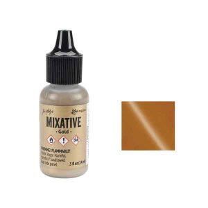 Adirondack Metallic Alcohol Ink .5oz – Gold