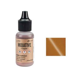 Adirondack Metallic Alcohol Ink .5oz – Copper