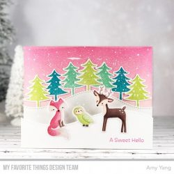 My Favorite Things Friends in the Forest Stamp Set