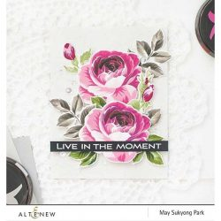 Altenew Build A Flower: Rose Stamp & Die Set