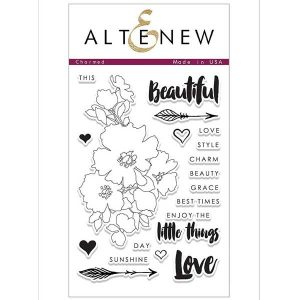 Altenew Charmed Stamp Set